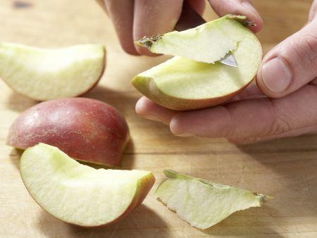 Apfel-Sellerie-Brotaufstrich: Zubereitungsschritt 3