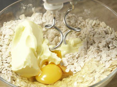Apfel-Walnuss-Schnitten: Zubereitungsschritt 3
