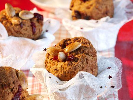 Apfelbrot-Muffins