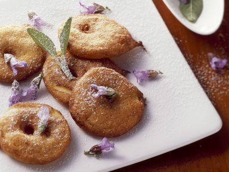 Apfelkücherl mit Salbei
