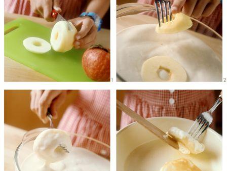 Apfelkücherl mit Zimt