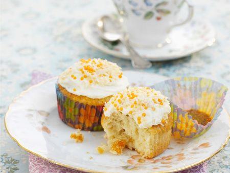 Aprikosen-Cupcakes