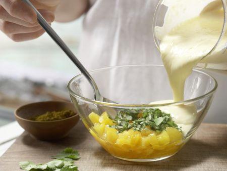 Aprikosen-Curry-Sauce: Zubereitungsschritt 5