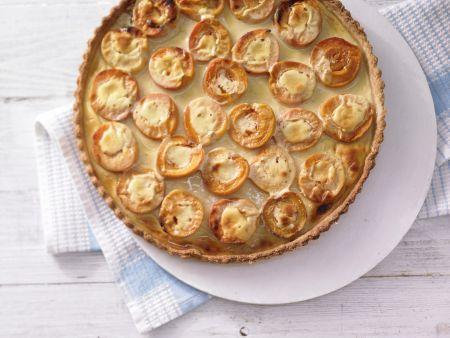 Aprikosen-Joghurt-Tarte