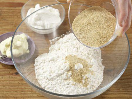 Aprikosen-Joghurt-Tarte: Zubereitungsschritt 1