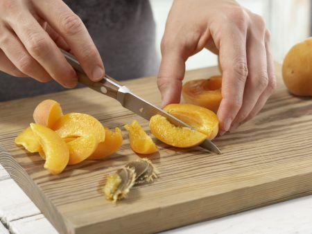 Aprikosen-Käsekuchen: Zubereitungsschritt 3