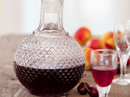 Aprikosen-Kirsch-Likör