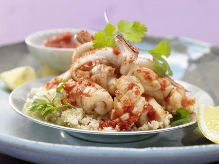 Arabische Calamari-Pfanne