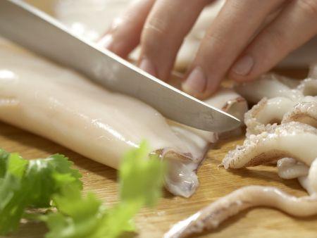 Arabische Calamari-Pfanne: Zubereitungsschritt 9