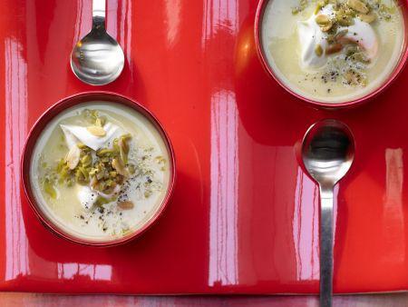 Artischocken-Cremesuppe
