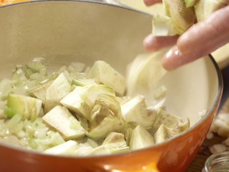 Artischocken-Cremesuppe: Zubereitungsschritt 5