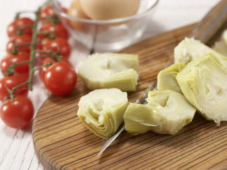 Artischocken-Tortilla: Zubereitungsschritt 1