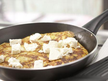 Artischocken-Tortilla: Zubereitungsschritt 7