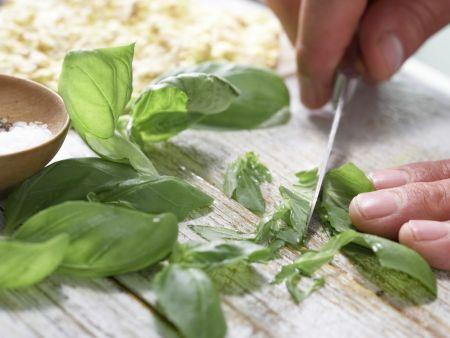 Artischockencreme auf Maiswaffeln: Zubereitungsschritt 5