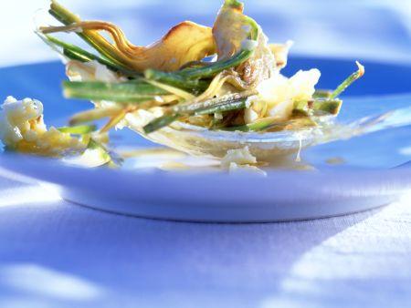 Artischockensalat mit Parmesan