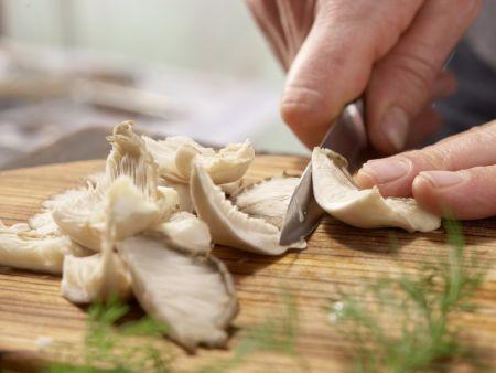 Asiatische Gemüsenudeln: Zubereitungsschritt 2