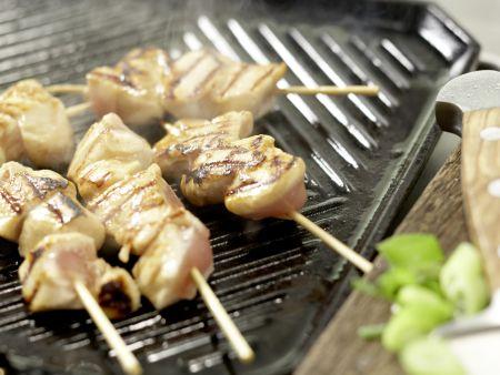 Asiatische Hähnchenspieße: Zubereitungsschritt 11