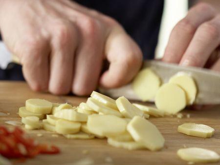 Asiatische Kohlsuppe: Zubereitungsschritt 10