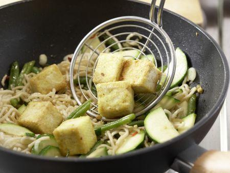 Asiatische Nudeln: Zubereitungsschritt 10