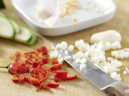 Asiatische Nudeln: Zubereitungsschritt 4