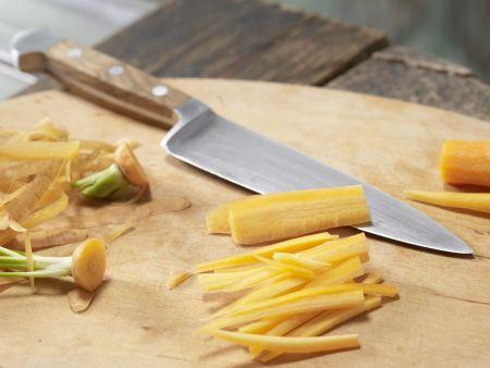 Asiatisches Spargel-Gemüse aus dem Wok: Zubereitungsschritt 2