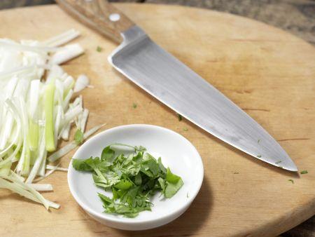 Asiatisches Spargel-Gemüse aus dem Wok: Zubereitungsschritt 4