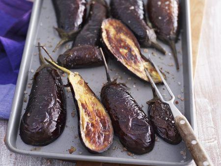 Rezept: Auberginen aus dem Ofen