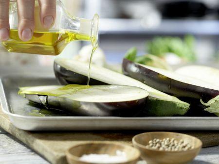Auberginen-Bruschetta: Zubereitungsschritt 3