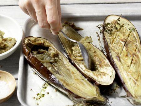 Auberginen-Bruschetta: Zubereitungsschritt 5