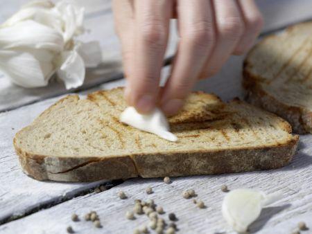 Auberginen-Bruschetta: Zubereitungsschritt 8