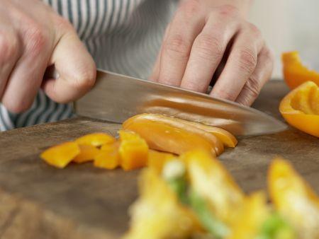 Auberginen-Cannelloni: Zubereitungsschritt 1