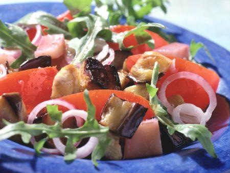 Auberginen-Kartoffel-Salat