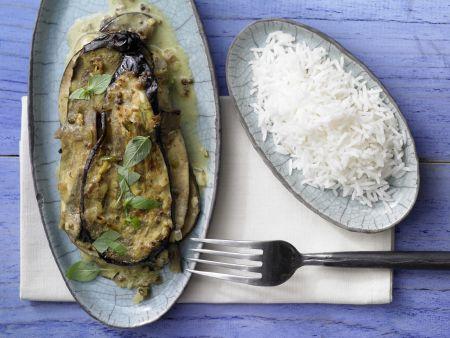Auberginen-Kokos-Curry