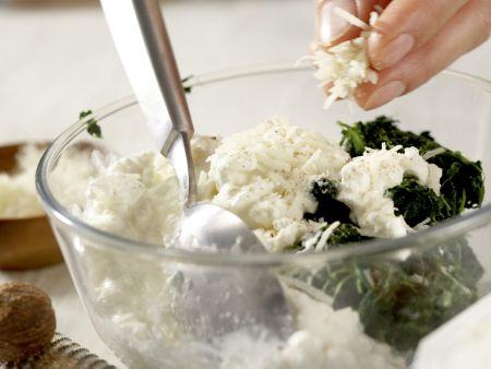 Auberginen-Lasagne: Zubereitungsschritt 6