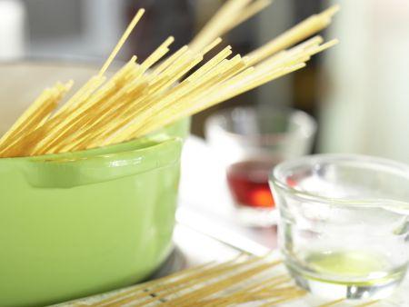 Auberginen-Spaghetti: Zubereitungsschritt 6