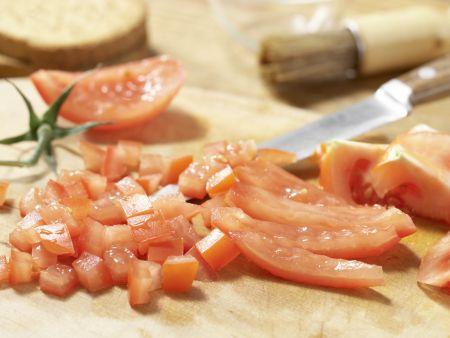 Auberginenbrei mit Zwieback: Zubereitungsschritt 4