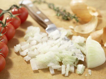 Aufstrich mit Tomaten: Zubereitungsschritt 2