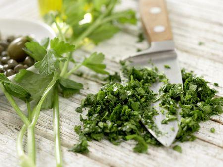 Austern mit Petersilien-Salsa-Verde – smarter: Zubereitungsschritt 1