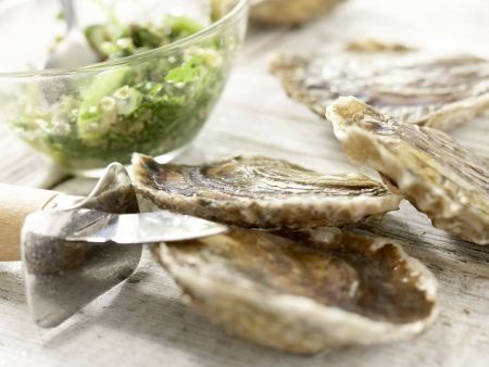 Austern mit Petersilien-Salsa-Verde – smarter: Zubereitungsschritt 4