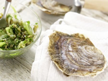 Austern mit Petersilien-Salsa-Verde – smarter: Zubereitungsschritt 5