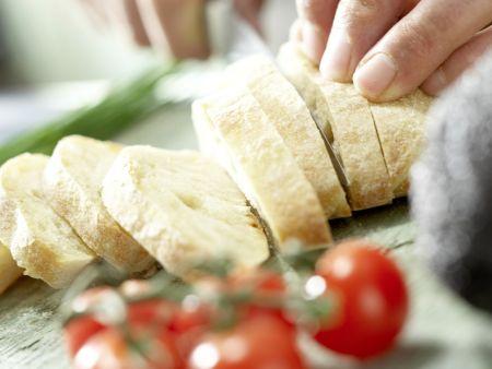 Avocado-Crostini: Zubereitungsschritt 1