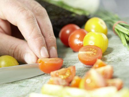 Avocado-Crostini: Zubereitungsschritt 5