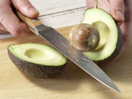 Avocado-Dip: Zubereitungsschritt 1