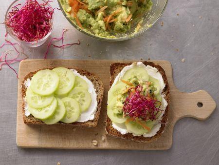 avocado frischk se brot rezept eat smarter. Black Bedroom Furniture Sets. Home Design Ideas