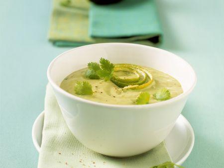 Avocado-Limetten-Suppe