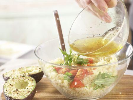 Avocado mit Mandelkruste: Zubereitungsschritt 7