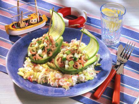 Avocado-Schiffchen