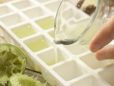 Avocado-Toast mit Koriander: Zubereitungsschritt 1