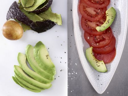 Avocado-Tomaten-Salat: Zubereitungsschritt 4