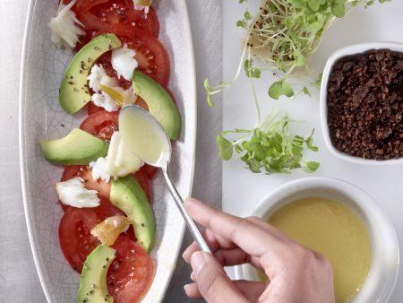 Avocado-Tomaten-Salat: Zubereitungsschritt 7